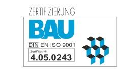 ZERTIFIZIERUNG DIN ISO 9001 BAUWESEN